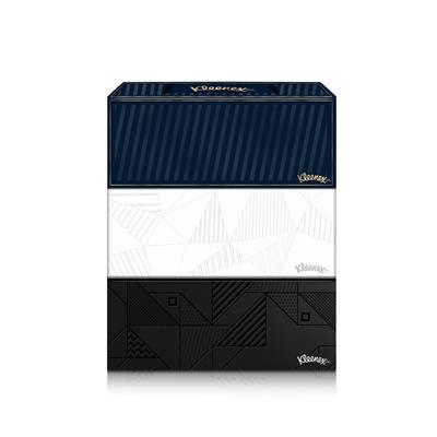 กระดาษเช็ดหน้า 150 แผ่น (แพ็ค3กล่อง) คลีเน็กซ์ BE U