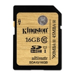 Kingston SDHC UHS-I Ultimate Class10 Memory Card 16GB
