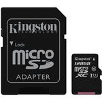 Kingston MicroSDXC UHS-I Class10 MemoryCard 128GB (SDCS)