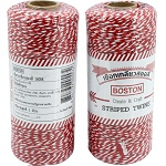 Boston Red & White Twine 180 m.